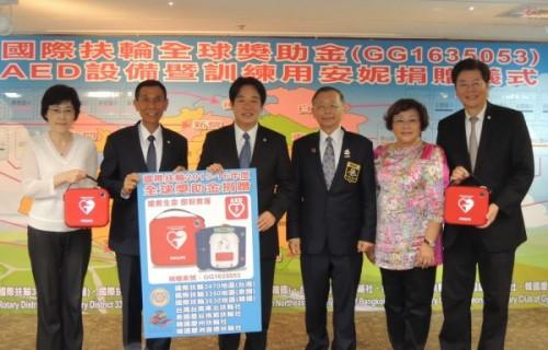台南AED每10萬人57台 超越德英澳先進國家